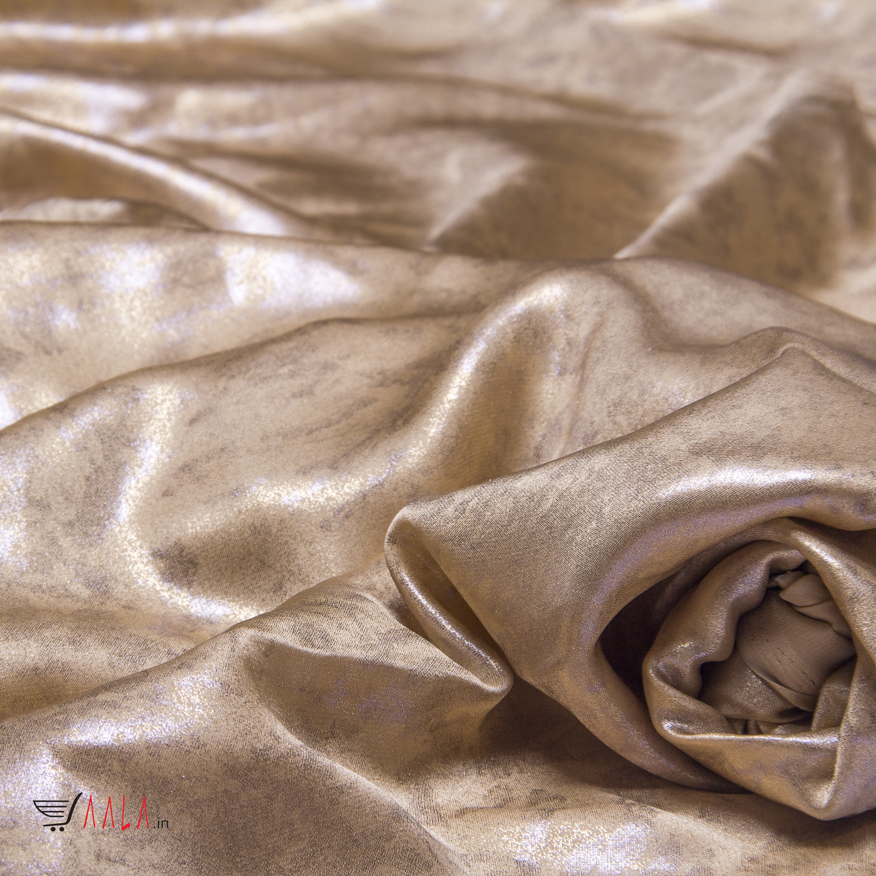 Tiles Satin Georgette Poly-ester 44 Inches Dyed Per Metre #1825