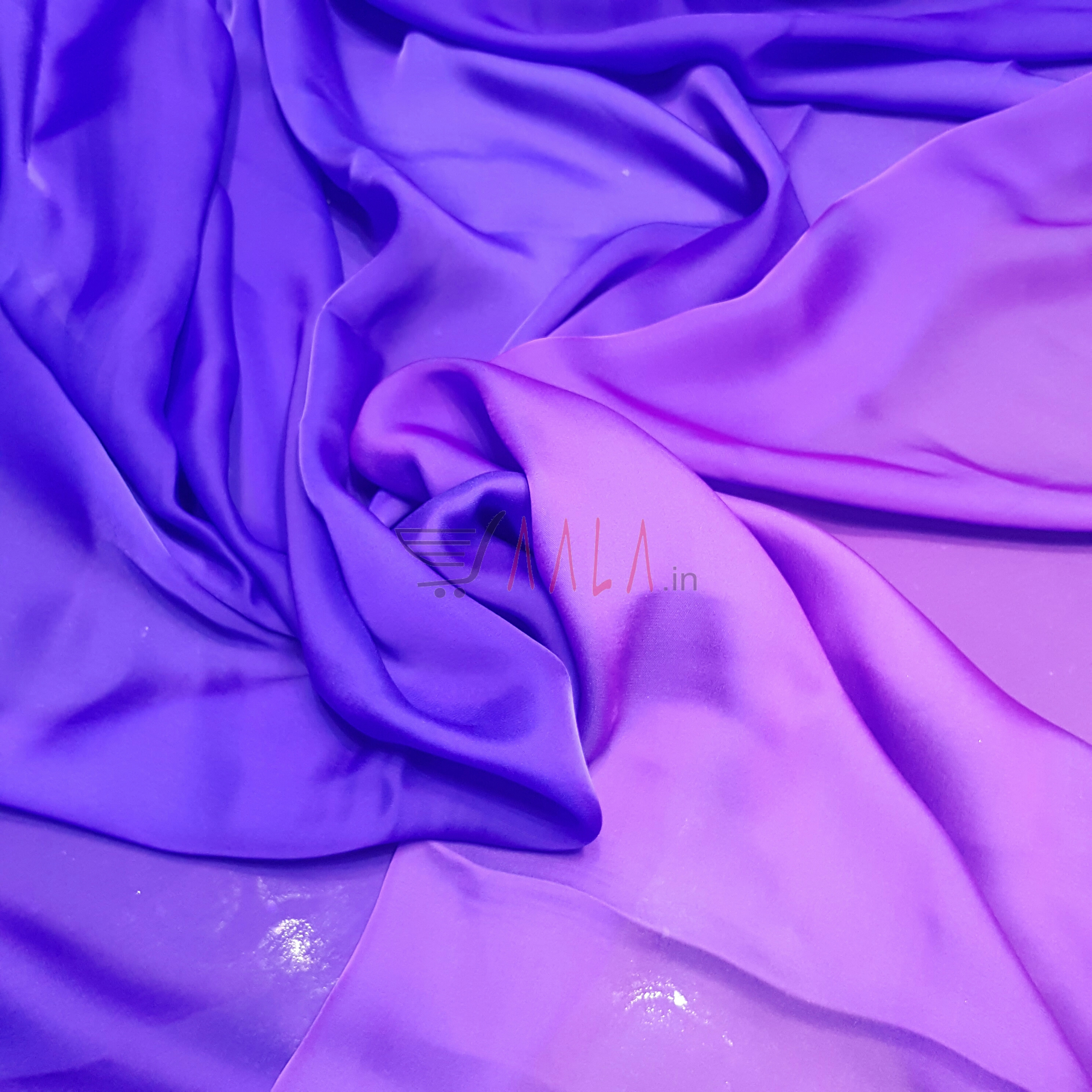 Two Tone Flat Chiffon Poly-ester 44 Inches Dyed Per Metre #2050