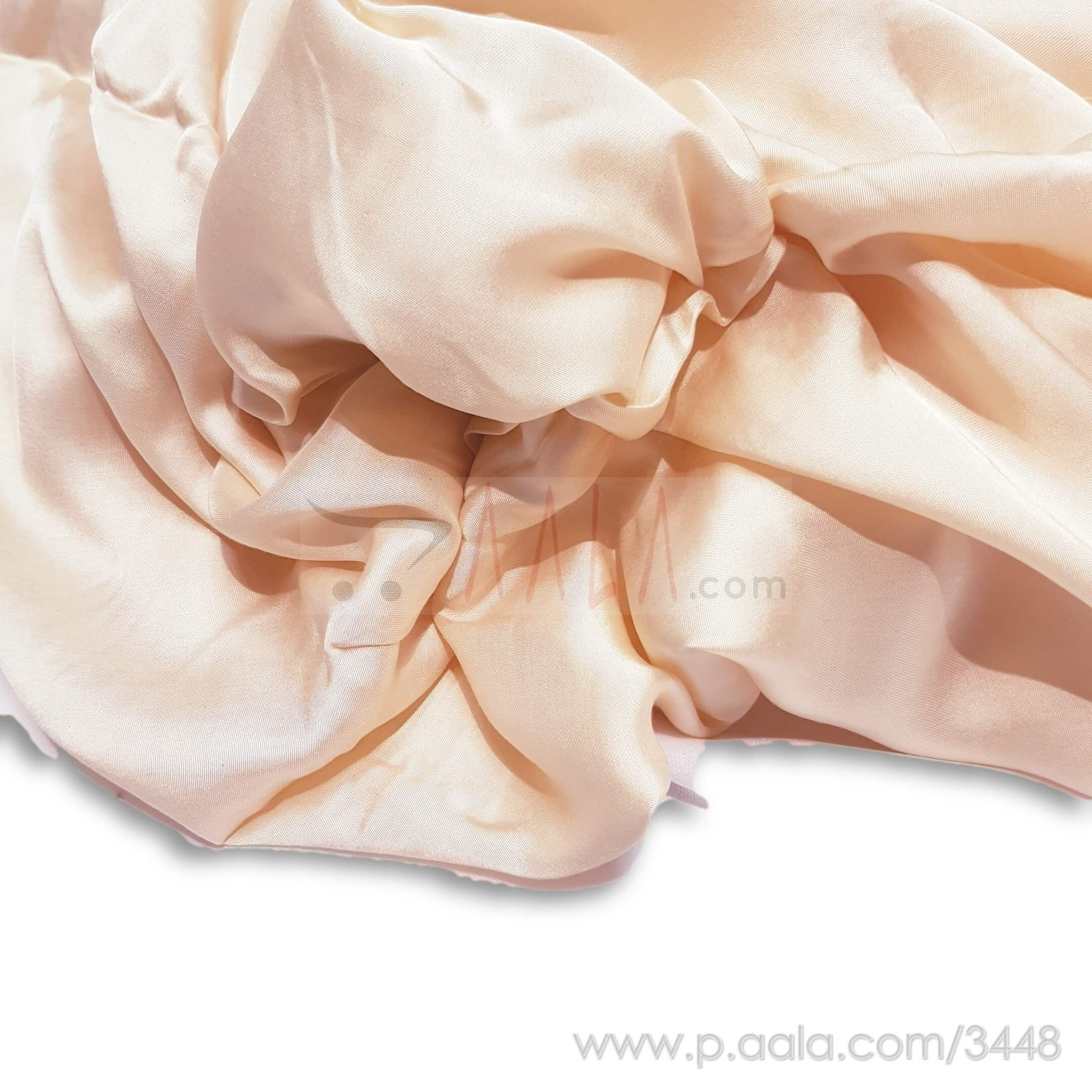 Modal Satin Viscose 44 Inches Dyed Per Metre #3448